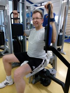 Fitness-Training beim JCAH e.V.