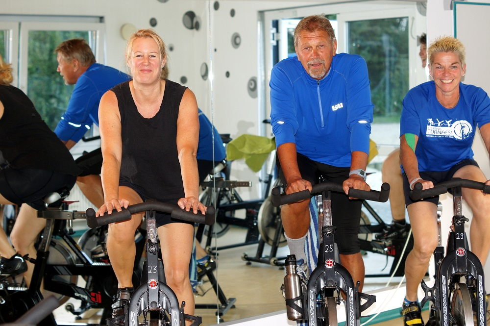 Indoor-Cycling in Hundsmühlen beim JCAH e.V.