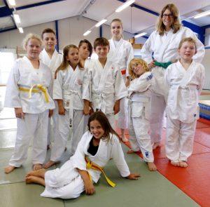 Judo-Kinder beim JCAH e.V.