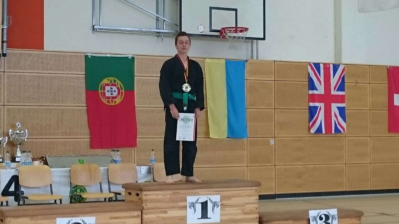 Kung Fu - deutsche Meisterschaft