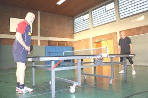 Tischtennis beim JCAH e.V. in Achternmeer